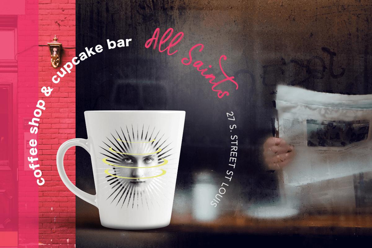 all saints branding cup