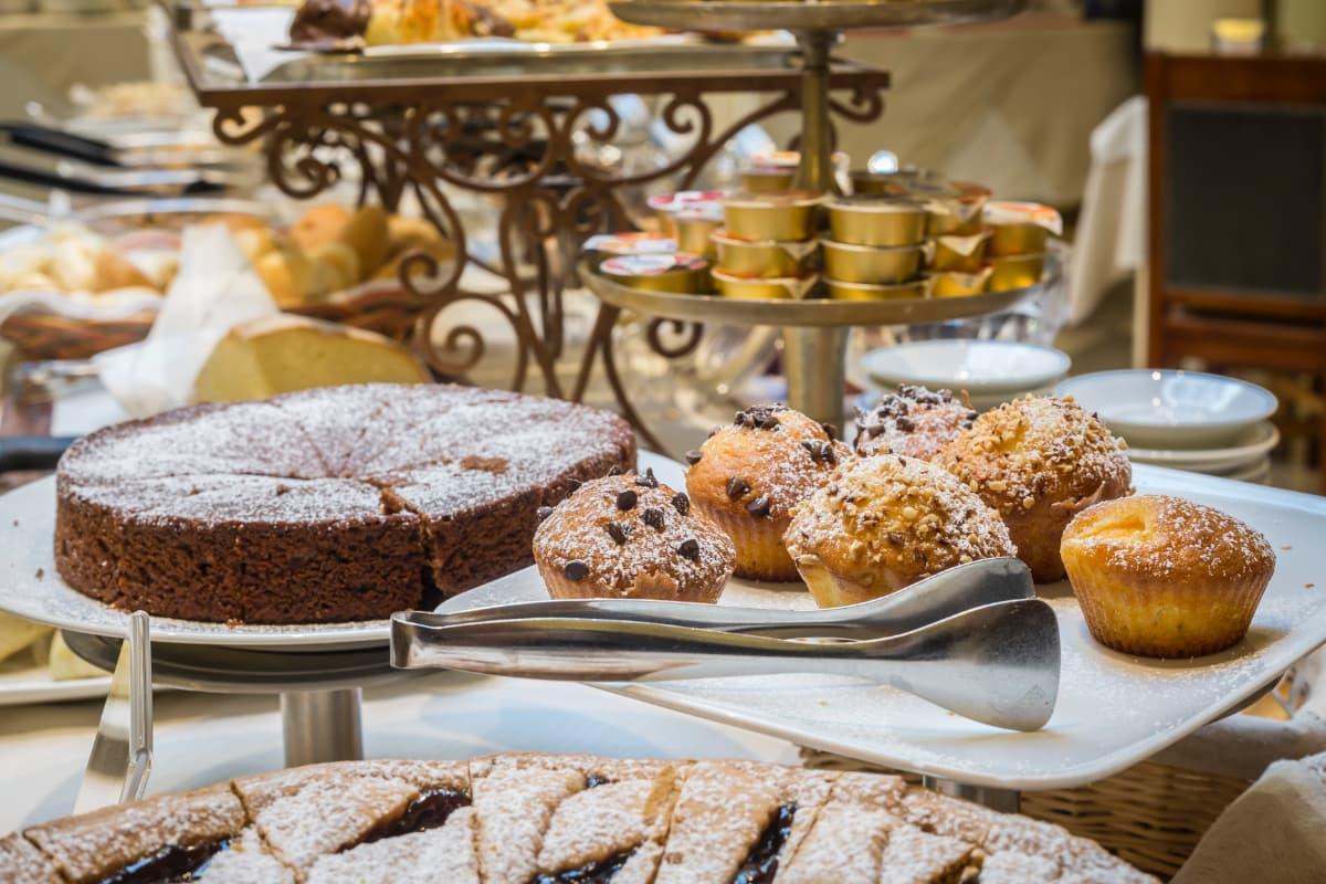 Hotel Roma breakfast