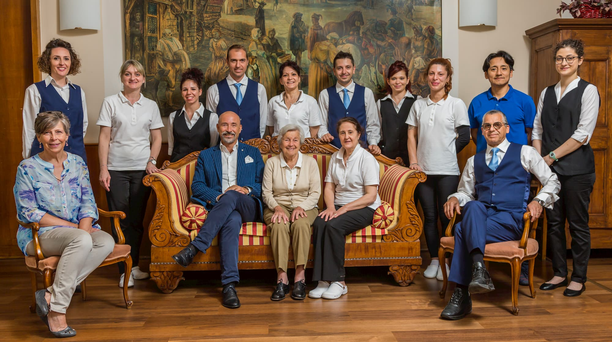 Hotel Roma staff picture