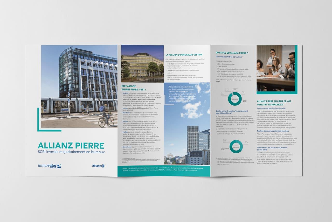 immovalor brochure leaflet corporate